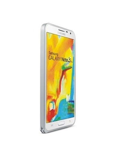 Microsonic Galaxy Note 3 Neo Thin Metal Bumper Çerçeve Kılıf Gümüş Renkli